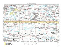 South Dakota In Usa Map by White River Little White River Drainage Divide Area Landform