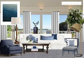 Beach Living Room by From The Desk Of Designer Lisa Tharp Lisa Tharp