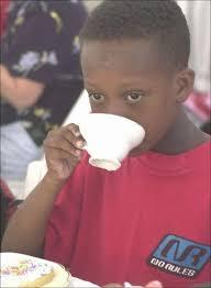 Mad Kid Meme - mad black kid sips tea blank template imgflip