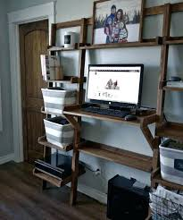 Ladder Office Desk Leaning Bookcase And Desk Modern White Leaning Bookcase Leaning