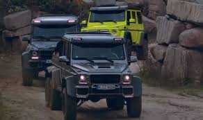 mercedes g63 amg 6x6 for sale brabus 700 g63 6x6 and g500 4 4 in lime green play in sand