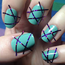 tape nail art gallery nail art designs