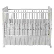 Simply Shabby Chic Baby Bedding by Babi Italia Mayfair Curved Convertible Crib Oyster Shell Babi