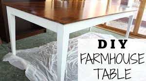 Diy Farmhouse Dining Room Table Diy Farmhouse Table For 70 Step By Step Chalk Paint Recipe
