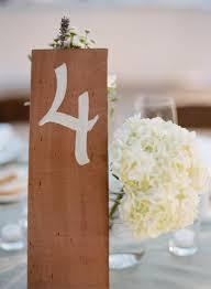 Wedding Table Number Ideas Wedding Table Number Ideas