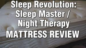 zinus sleep revolution sleep master night therapy mattress 12