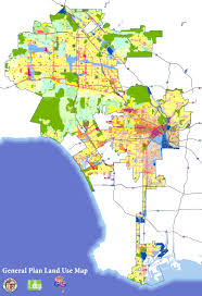 Los Angeles City Council District Map by Putting The Vision Into Action How Zoning Implements The General