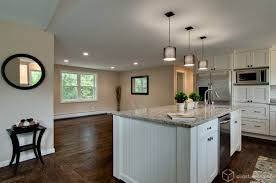 like the soffit between the kitchen and dining hardwood floors and