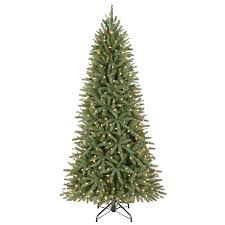 shop living 6 5 ft pre lit walden pine artificial