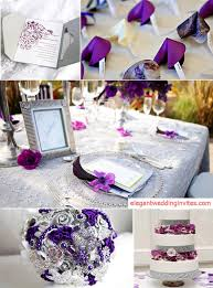and silver wedding top 5 color combination ideas for purple weddings