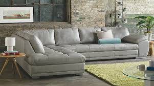 Gray Leather Sofa San Diego Contemporary Modern Furniture Store Lawrance Furniture