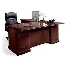 Mahogany Office Desk Mahogany 72 Executive Right L Desk L Desk 72 And Desks