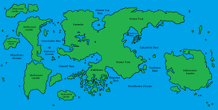 Map Of Faerun How Large Is The Forgotten Realms Dnd