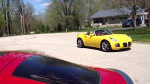 pontiac solstice gxp yellow extreme turbo youtube
