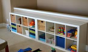 ikea meuble de rangement chambre rangement salle de jeux enfant 50 idées astucieuses