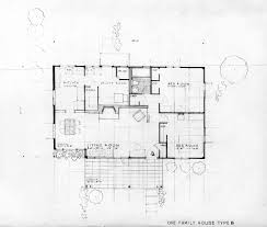 family house plans type b house plans oak ridge 1940s doe oakridge flickr