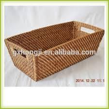rectangular wicker rattan basket weaving rattan baskets wholesale