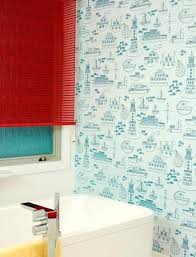 funky bathroom wallpaper ideas wallpaper ideas for bathroom home design ideas and pictures