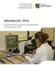 Tierklinik Bad Langensalza Jahresbericht 2014 Der Landesuntersuchungsanstalt Für Das