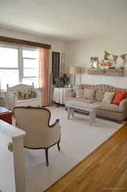 mini living room makeover with carpet one my creative days