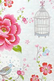 wallpaper with birds pip studio the official website birds in paradise wallpaper white