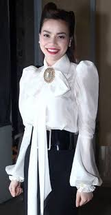 big bow blouse white bow blouse and pencil skirt pencil skirts satin blouses