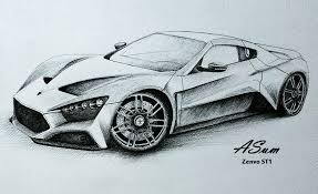 pictures pencil sketch of car drawing art gallery