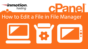 File Manager Title Cpanel How To Edit A File In File Manager Youtube