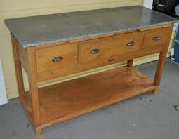 antique zinc top bakers table question hello i have a 24x60