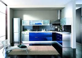 blue gloss kitchen cabinets kitchen cabinet ideas