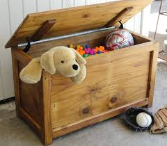 Wooden Toy Chest Bench Plans by Furniture Toy Box