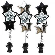 50th birthday balloon bouquets 5oth birthday balloon delivered 50th balloon gift