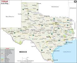 map of texa state map map of state