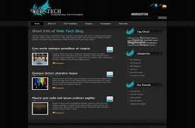 grey css free black grey html css website template free web templates