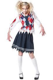 Girls Zombie Halloween Costume Zombie Fancy Dress Costume Lb L15422 Zombie