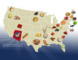 Arizona State Map by Ideas Collide Supports Chimi For Arizona State Food Ideas
