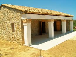 inspiration idea ancient greek houses with replica of an ancient