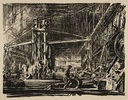 building ships a workshop u0027 sir muirhead bone c 1917 tate