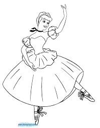 Cinderella Coloring Pages Disney Disney Princess Cindirella