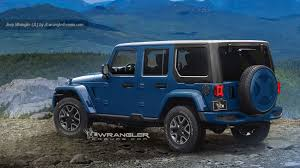 Jeep Wrangler Waterproof Interior Everything We Know About The 2018 Jeep Wrangler Jl Autoblog