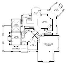 octagonal house plans craftsman style house plan 4 beds 3 5 baths 3590 sq ft plan 132