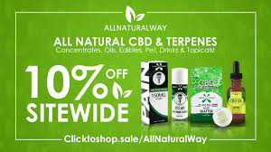 edibles coupons 10 site wide at all way cbd and terpene products