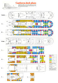 deck plans and cabin layouts