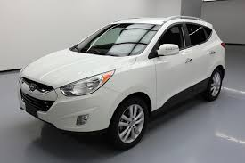 hyundai tucson price 2013 2013 hyundai tucson limited htd leather bluetooth 81k at