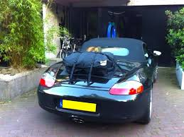 porsche trunk porsche boxster luggage rack boot bag original
