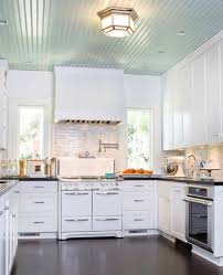kitchen ceiling ideas pictures painted ceilings for every room the distinctive cottage