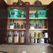kitchen cabinets organizing ideas ideas to organize your kitchen cabinet all from the dollar tree