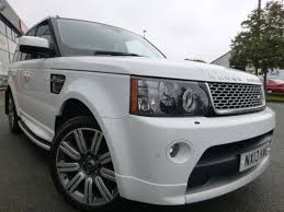 range rover land rover white used white land rover range rover sport for sale cheshire