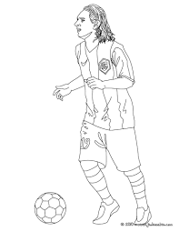 coloriages lionel messi fr hellokids com