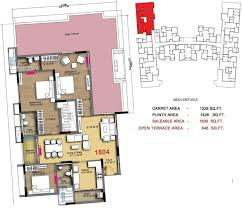 1830 sq ft 3 bhk floor plan image radiance realty icon available
